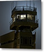 Cob Speicher Control Tower Metal Print by Terry Moore