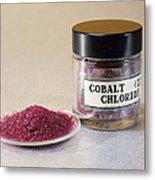 Cobalt Chloride Metal Print by Andrew Lambert Photography