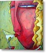 Cocktail Hour Metal Print by Charlie Spear