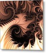 Coffee And Cream Metal Print by Sharon Lisa Clarke