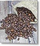 Coffee Beans Metal Print by Joana Kruse
