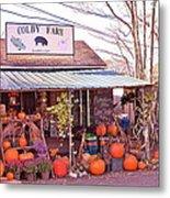 Colby Farm Metal Print by Kristine Patti