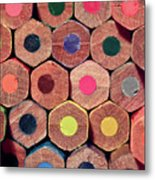 Colorful Painting Pencils Metal Print by Erdem Civelek visual