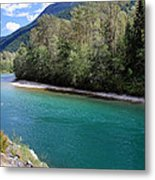 Colorful Skagit River Metal Print by Pierre Leclerc Photography