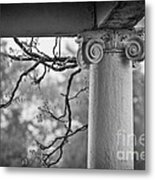 Column In Spring Metal Print by Susan Isakson