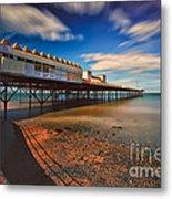 Colwyn Pier Metal Print by Adrian Evans