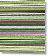 Comfortable Stripes Lv Metal Print by Michelle Calkins