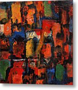 Compartmentalized Metal Print by Marina R Burch