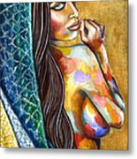 Concubine Metal Print by Jorge Namerow