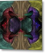 Conjoint - Multicolor Metal Print by Christopher Gaston