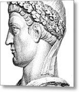 Constantine I (d. 337) Metal Print by Granger