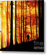 Conversing With Ancients  Metal Print by The DigArtisT