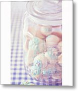 Cookie Jar Metal Print by Priska Wettstein