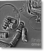 Corks 3 Metal Print by Cheryl Young