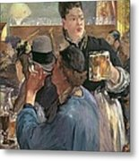 Corner Of A Cafe-concert Metal Print by Edouard Manet