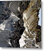 Corrosion By Nature Metal Print by Kaye Menner