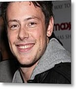 Cory Monteith At In-store Appearance Metal Print by Everett