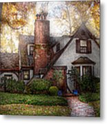 Cottage - Westfield Nj - Grandma Ridinghoods House Metal Print by Mike Savad