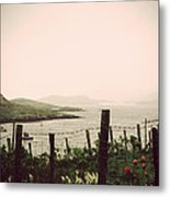 Cottage By The Sea Barra Metal Print by Jasna Buncic