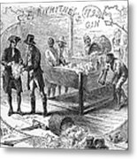 Cotton Gin, 1793 Metal Print by Granger