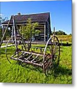 Country Classic Paint Filter Metal Print by Steve Harrington