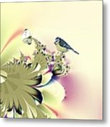 Country Garden Metal Print by Sharon Lisa Clarke
