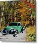 Country Roads Metal Print by Cheryl Young