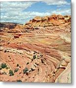 Coyote Buttes Metal Print by David Hogan