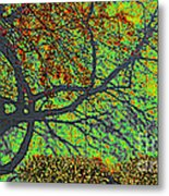 Crabapples West Acid Pop Metal Print by Feile Case