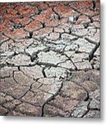 Cracked Earth Metal Print by Athena Mckinzie