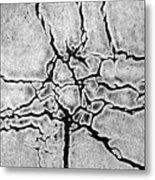 Cracks Metal Print by Gerard Hermand