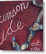 Crimson Tide Metal Print by Racquel Morgan