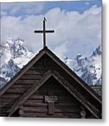Cross Bird Metal Print by Charles Warren
