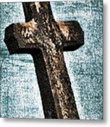 Cross Metal Print by Darren Fisher