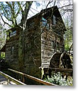 Cross Eyed Cricket Grist Mill Metal Print by Paul Mashburn
