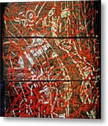Crucifixion - Tile Metal Print by Gloria Ssali