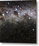 Crux And The Southern Celestial Pole Metal Print by Eckhard Slawik
