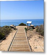 Crystal Cove State Park Ocean Overlook Metal Print by Paul Velgos