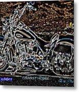 Cu Boulder Colorado Nights Metal Print by Eric Dee