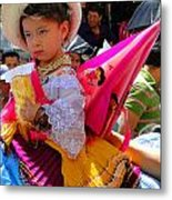 Cuenca Kids 116 Metal Print by Al Bourassa