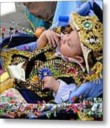 Cuenca Kids 169 Metal Print by Al Bourassa