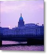 Custom House, Dublin, Co Dublin, Ireland Metal Print by The Irish Image Collection
