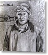 Dad Ww2 Metal Print by Jack Skinner