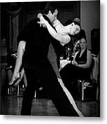 Dance Room Drama Metal Print by Lori Seaman