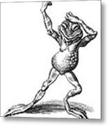 Dancing Frog, Conceptual Artwork Metal Print by Bill Sanderson
