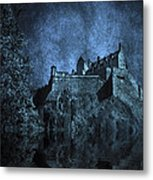 Dark Castle Metal Print by Svetlana Sewell