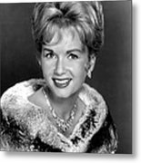 Debbie Reynolds In The 1960s Metal Print by Everett