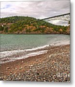 Deception Pass Washington Metal Print by Artist and Photographer Laura Wrede