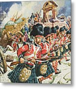 Defence Of Corunna Metal Print by C L Doughty