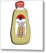 Deli Style Mustard Metal Print by George Pedro